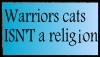Warriors isn't religion stamp by Echofeather