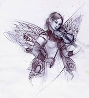 The Violinist by dais-firefly
