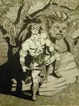 Sci Fi Dwarven Warrior