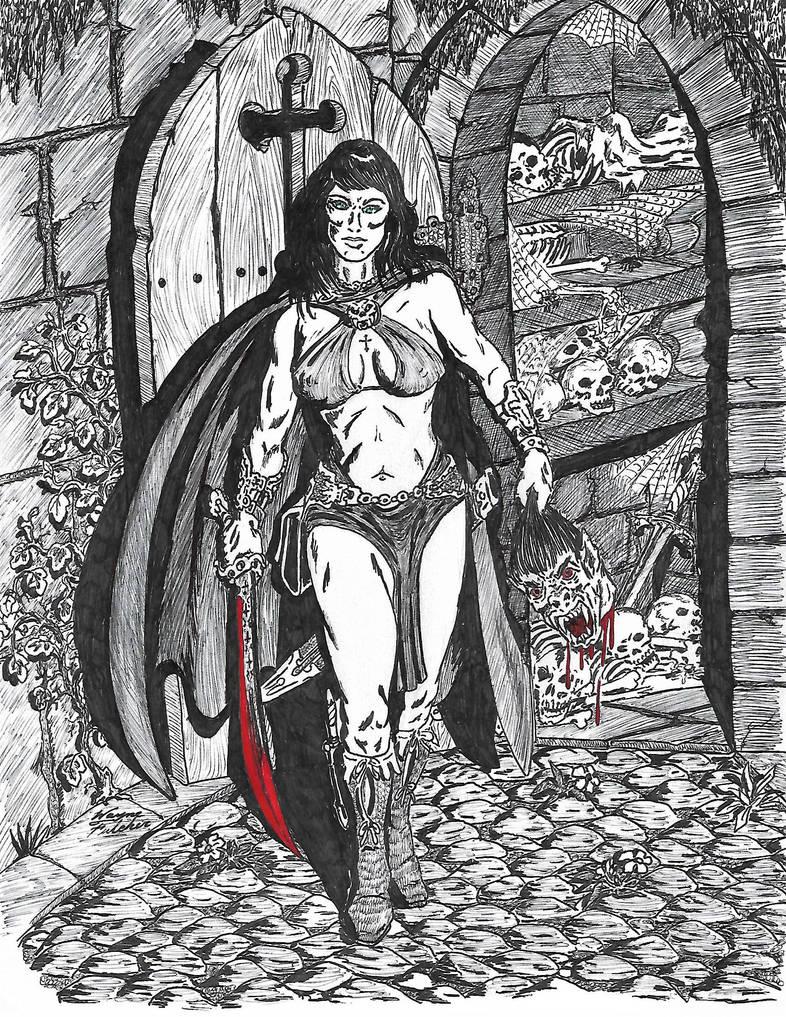 Dark Huntress 1b
