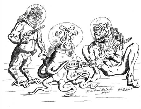 Old style Aliens 02