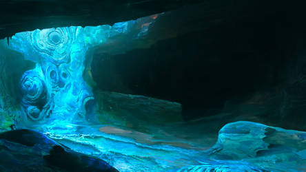 Pitch Sketch for Path of Exile: Delve by Chander-lieve