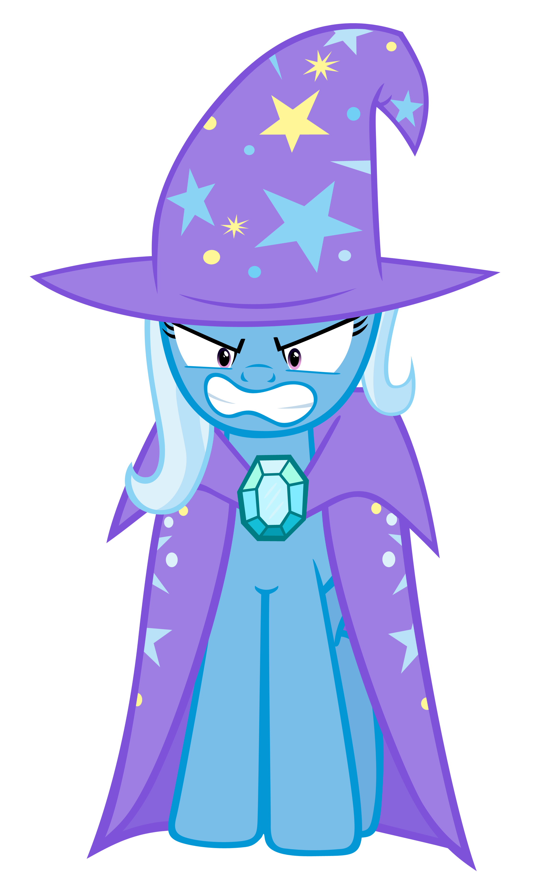 Angry MLP FiM Trixie