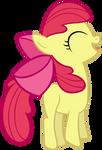 Apple Bloom jumping