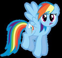Rainbow Dash - ...wtf? by Stabzor