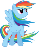 Rainbow Dash - Colors of the wind