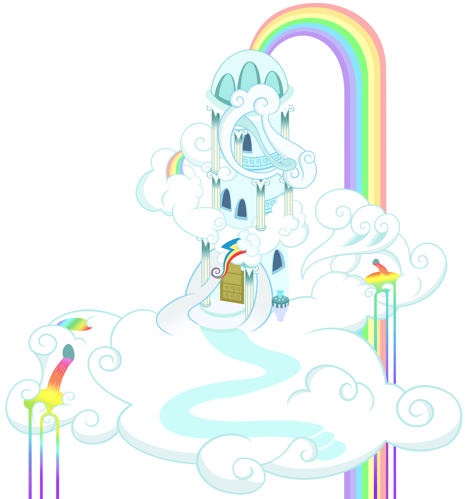 Rainbow Dash's house by Stabzor