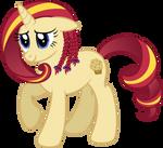 Aquia - unicorn OC