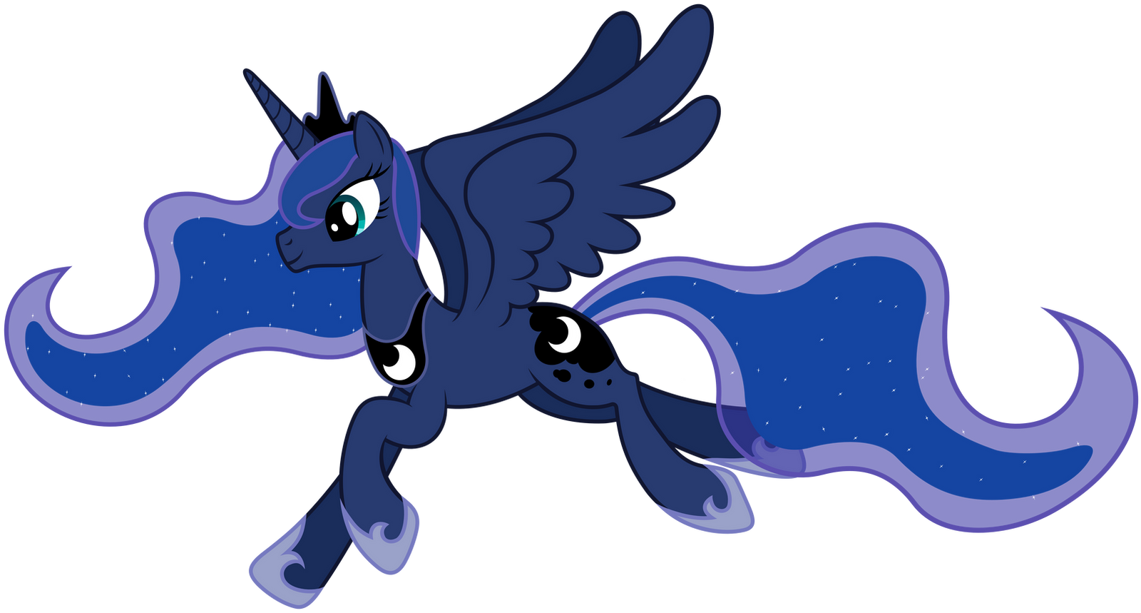 Flying Luna