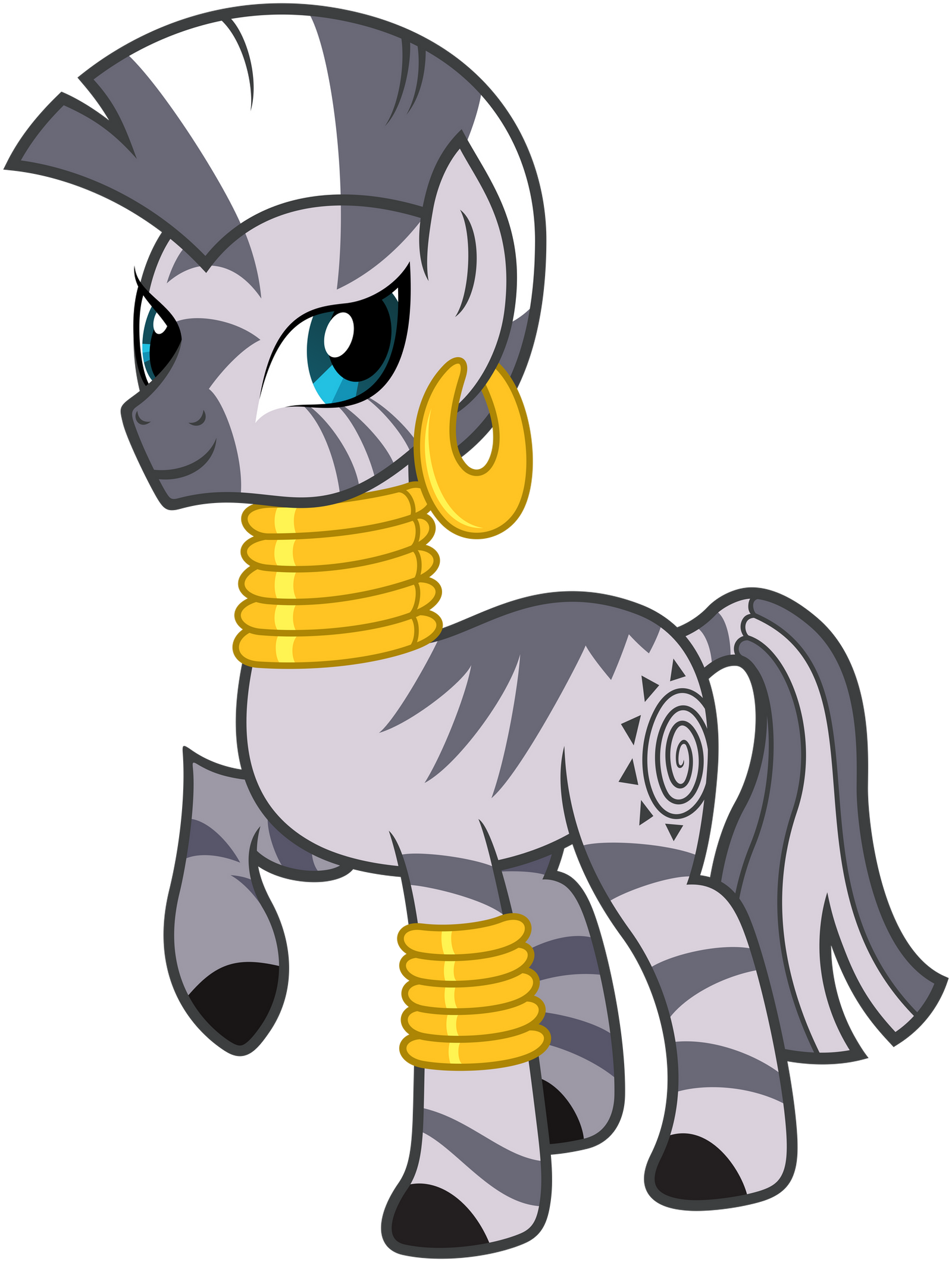 Zecora by Stabzor on D...Zebra Vector Png