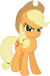 Confident Applejack
