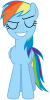 Smug Rainbow Dash