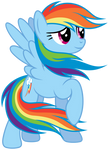 Rainbow Dash - colors of the wind, remade