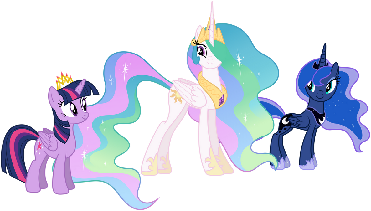 Three princesses by Stabzor