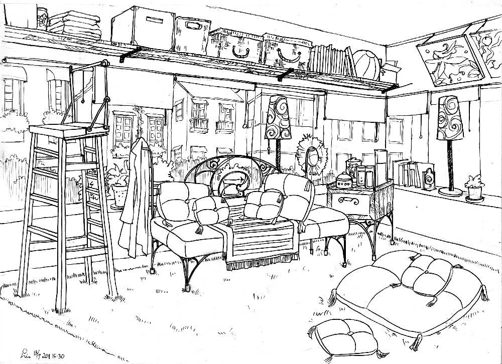 ruang keluarga  by malya on DeviantArt