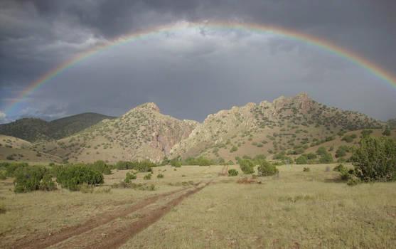 Rainbow Over Monticello Canyon