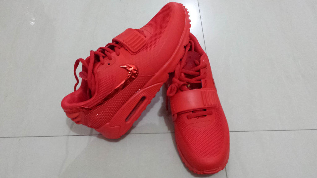 61bbc2daa Nike Air Yeezy 2 SP Max 90 Men shoes by tofadkickz on DeviantArt