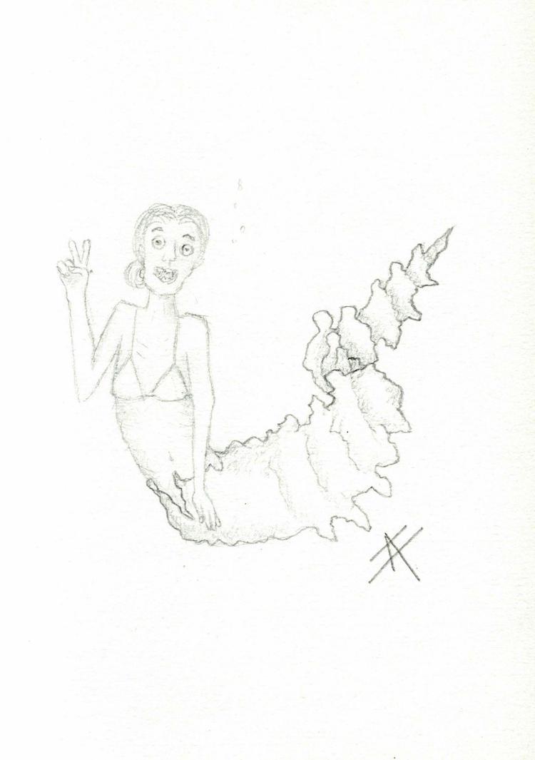 The mermaid by Moca13