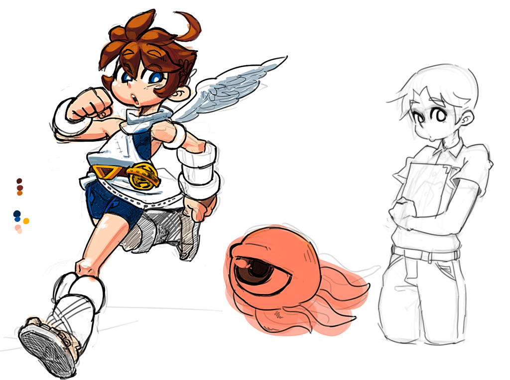Kid Icarus By Jaeyun213 On DeviantArt