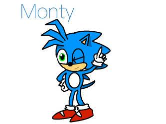Monty the Hedgehog (OLD ART)