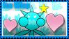 Ice Wisp Fan Stamp by DankakaTheCat