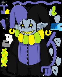 Jevil The Devil Jester by DankakaTheCat