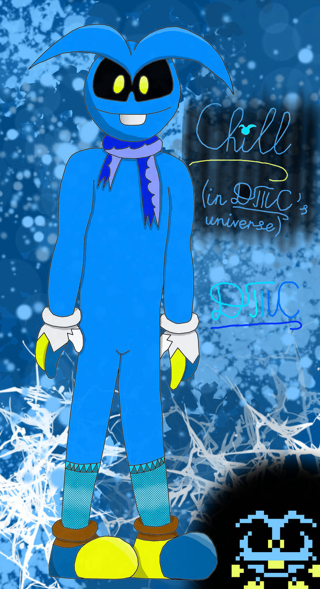 Character Profile #1 - Chill the Blue Virus