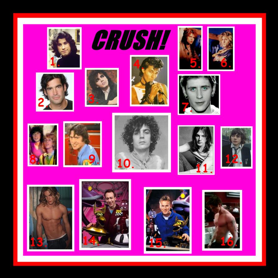 Celeb Crushes Through My Life by SyddyGurl