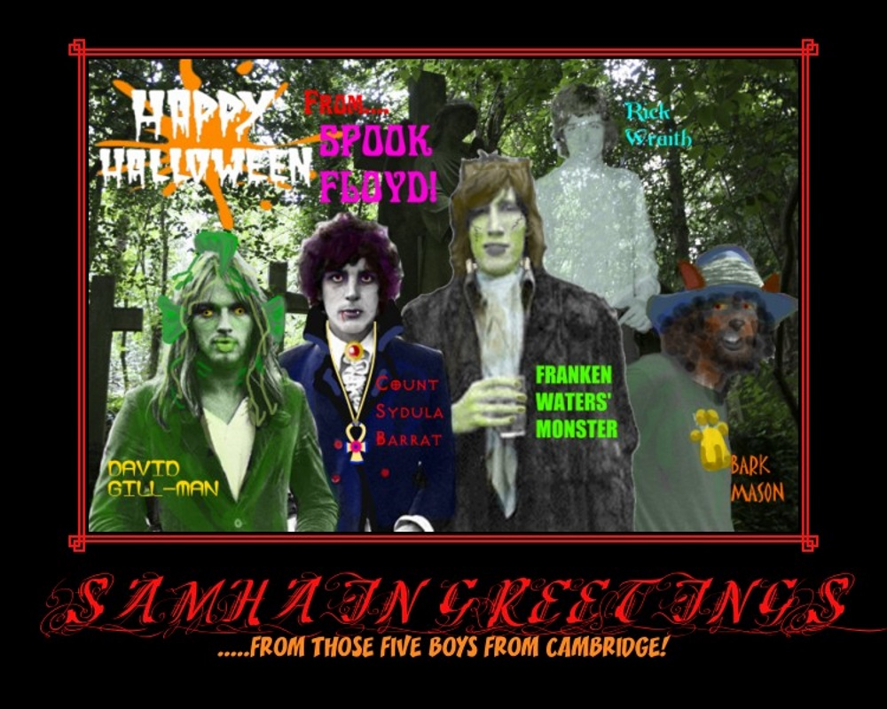 Samhain Greetings - From SPOOK Floyd by SyddyGurl