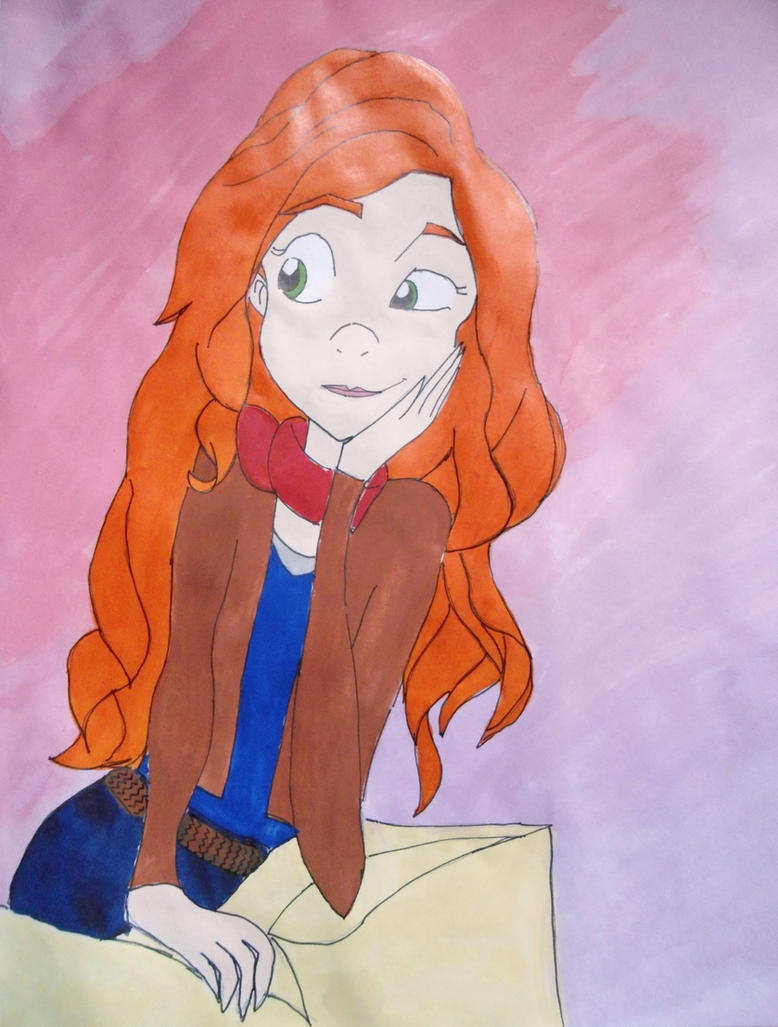 Amy Pond by Rukiaoceanspirit1