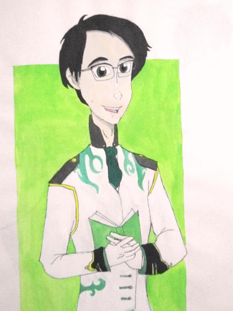 Prince Edward Nygma by Rukiaoceanspirit1