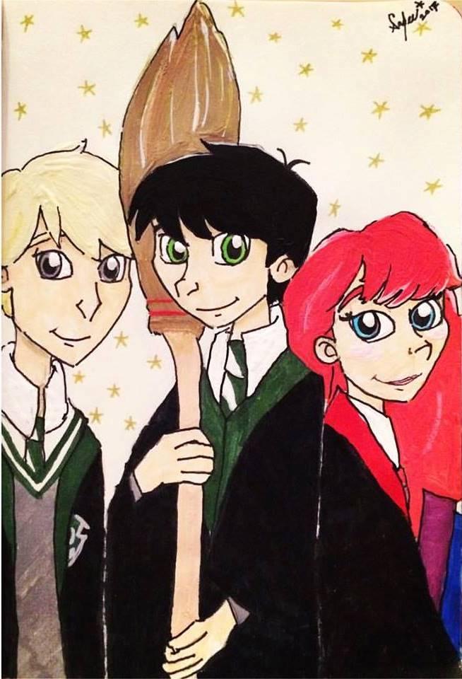 New explorers of Hogwarts by Rukiaoceanspirit1