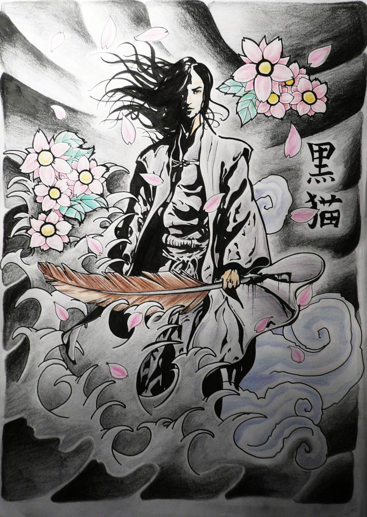 Irezumi Tattoo Design by KuroNekoArt