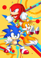 SONIC MANIA by AlcyoneAX