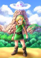 Link's Awakening by AlcyoneAX