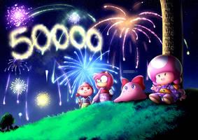 50,000+ PAGEVIEWS