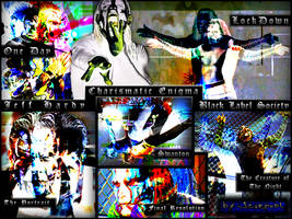 Jeff Hardy- Black Label Society by Scarponi