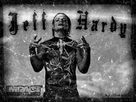 Jeff Hardy- Old Poster by Scarponi