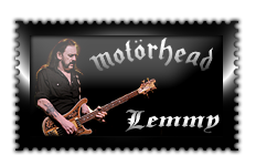 |Motorhead|Lemmy|Stamp| by Scarponi