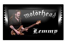 |Motorhead|Lemmy|Stamp| by Scarponi