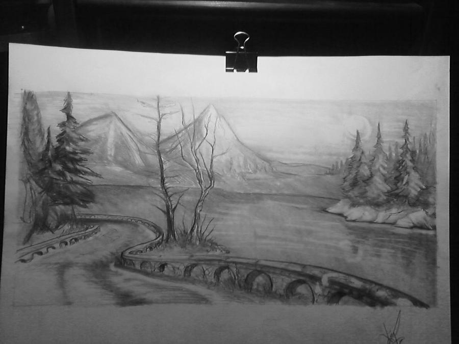 Landscape 01 by vanDara