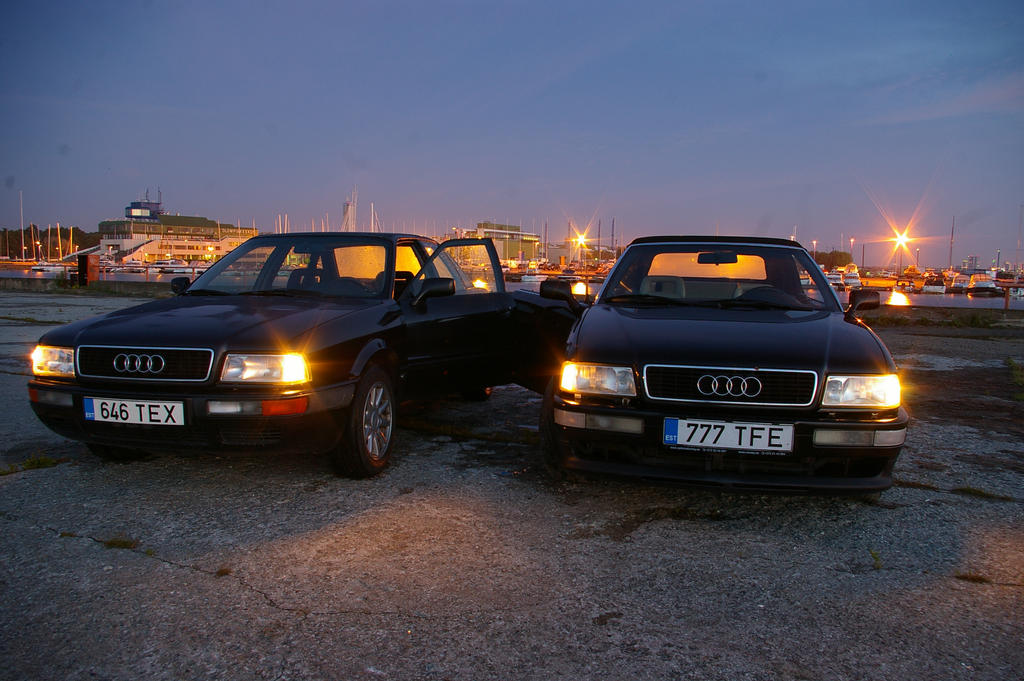audi 80 cabrio and audi 80 b4 by shadowphotography on. Black Bedroom Furniture Sets. Home Design Ideas