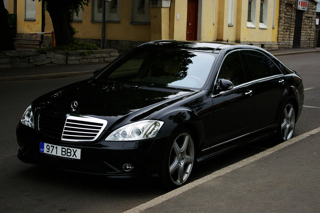 black mercedes benz s class by shadowphotography on deviantart