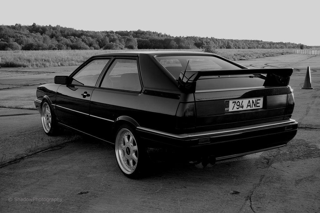 audi 80 coupe bw back by shadowphotography on deviantart. Black Bedroom Furniture Sets. Home Design Ideas