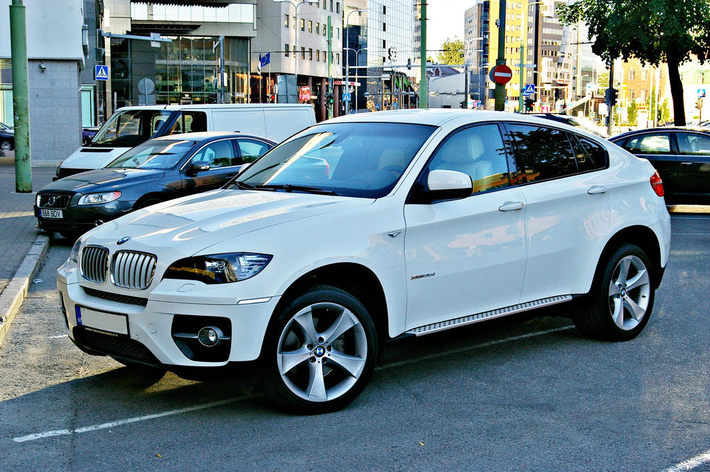 Bmw X6 White By Shadowphotography On Deviantart