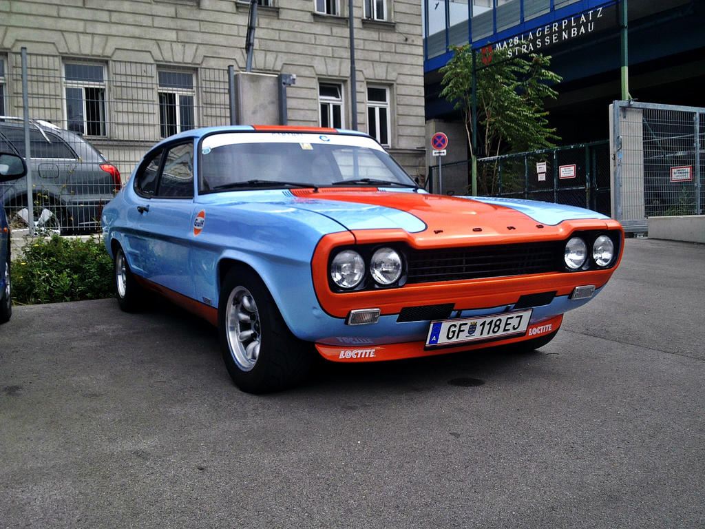 ford capri rs2600 gulf by shadowphotography on deviantart. Black Bedroom Furniture Sets. Home Design Ideas