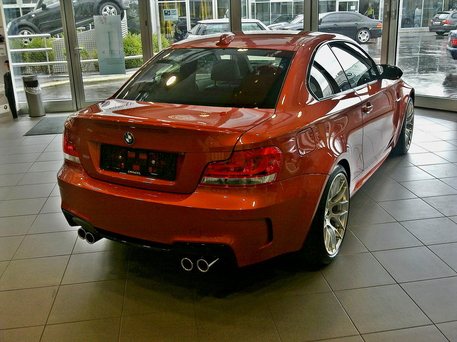 Bmw 1m coupe backend by shadowphotography on deviantart for Bmw denzel wien