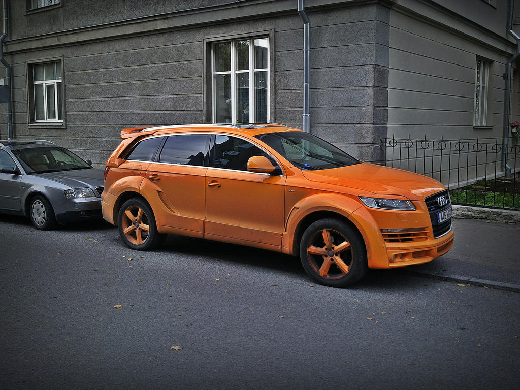 Ugly Audi Q7 by ShadowPhotography on DeviantArt