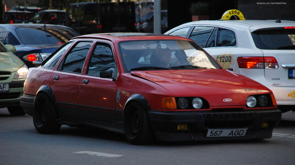 Ford Sierra by ShadowPhotography