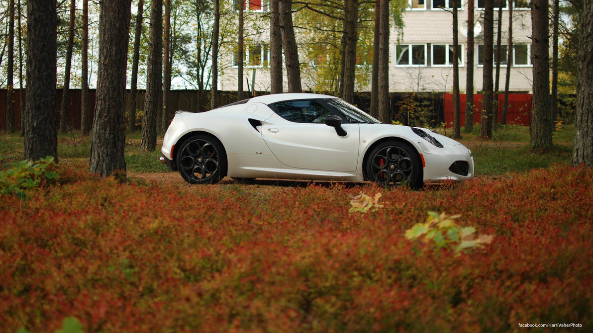 Alfa Romeo 4C Launch Edition by ShadowPhotography